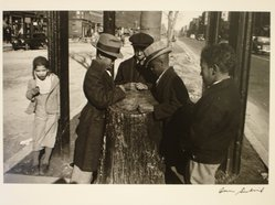 Aaron Siskind (American, 1903-1991). <em>Wishing Tree</em>, ca. 1937. Gelatin silver photograph, Sheet: 10 7/8 x 13 7/8 in. Brooklyn Museum, Gift of Dr. Daryoush Houshmand, 1989.193.8. © artist or artist's estate (Photo: Brooklyn Museum, CUR.1989.193.8.jpg)