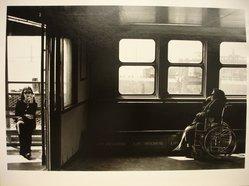 Michael Hanulak (American, 1937-2011). <em>Staten Island Ferry</em>, 1996. Gelatin silver photograph, image: 9 1/2 x 12 7/8 in. (24.1 x 32.7 cm). Brooklyn Museum, Gift of the artist, 1999.38.2. © artist or artist's estate (Photo: Brooklyn Museum, CUR.1999.38.2.jpg)
