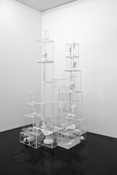 Terence Koh (born China, 1977). <em>Untitled (Vitrines)</em>, 2006. Mixed media, variable. Brooklyn Museum, Gift of Peres Projects, Inc., 2008.34. © artist or artist's estate (Photo: Courtesy Peres Projects, Berlin Los Angeles. ? Lutz Bertram, Berlin, CUR.2008.34_Courtesy_Peres_Projects_Berlin_Los_Angeles_001.jpg)