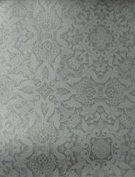 "Stefan Hengst (Dutch, born 1967). <em>Wallpaper, ""Andaluz"" line, ""Granada"" pattern</em>, designed 2011, manufactured 2012. Printed vinyl, a: 24 x 25 1/2 in. (61 x 64.8 cm). Brooklyn Museum, Gift of Stefan Hengst, 2012.63.2a-b. © artist or artist's estate (Photo: Brooklyn Museum, CUR.2012.63.2a-b.jpg)"