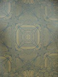 "Stefan Hengst (Dutch, born 1967). <em>Wallpaper, ""Andaluz"" line, ""Cordoba"" pattern</em>, designed 2011, manufactured 2012. Printed vinyl, a: 24 x 25 1/2 in. (61 x 64.8 cm). Brooklyn Museum, Gift of Stefan Hengst, 2012.63.5a-b. © artist or artist's estate (Photo: Brooklyn Museum, CUR.2012.63.5a-b.jpg)"