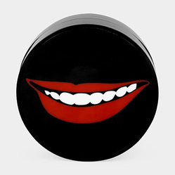 Sanford Biggers (American, born 1970). <em>Cheshire Smile</em>, 2008. Plastic, 2 x 4 in. (5.1 x 10.2 cm). Brooklyn Museum, Gift of Arnold and Pamela Lehman, 2015.56.16. © artist or artist's estate (Photo: Image courtesy of the artist, CUR.2015.56.16_Biggers_photograph.jpg)