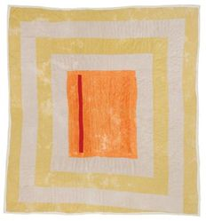 Gloria Hoppins (American, born 1955). <em>Quilt, Housetop Pattern with Center Medallion</em>, ca. 1975. Corduroy, Overall: 91 × 90 × 1 in. (231.1 × 228.6 × 2.5 cm). Brooklyn Museum, Gift of the Souls Grown Deep Foundation from the William S. Arnett Collection, 2018, 2018.37.3. © artist or artist's estate (Photo: , CUR.2018.37.3.jpg)