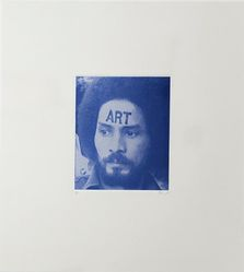 Pedro Terán (Venezuelan, born 1943). <em>ART (Autorretrato)</em>, 1972. Photo etching on paper, (secondary support): 17 5/16 × 38 13/16 in. (44 × 98.6 cm). Brooklyn Museum, Gift of Andrew Cogan & Lori Finkel, 2018.64. © artist or artist's estate (Photo: Image courtesy the artist, CUR.2018.64_Pedro Teran_abra_photograph.jpg)