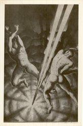 Harry Sternberg (American, 1904-2001). <em>Cymbals</em>, 20th century. Etching and aquatint on wove paper, 10 13/16 x 6 7/8 in. (27.5 x 17.5 cm). Brooklyn Museum, 35.836. © artist or artist's estate (Photo: Brooklyn Museum, CUR.35.836.jpg)
