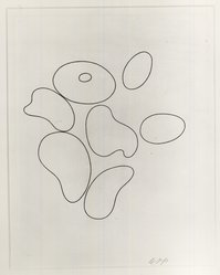 Hans Jean Arp (French, 1887-1966). <em>Composition No. 1</em>, 1935. Etching, Sheet: 12 3/4 x 9 7/8 in. (32.4 x 25.1 cm). Brooklyn Museum, Brooklyn Museum Collection, 39.662.1. © artist or artist's estate (Photo: Brooklyn Museum, CUR.39.662.1.jpg)