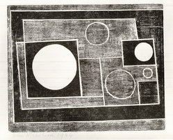 Ben Nicholson (British, 1894-1982). <em>Composition No. 16</em>, 1934. Etching on wove paper, Sheet: 7 13/16 x 11 in. (19.8 x 27.9 cm). Brooklyn Museum, Brooklyn Museum Collection, 39.662.16. © artist or artist's estate (Photo: Brooklyn Museum, CUR.39.662.16.jpg)