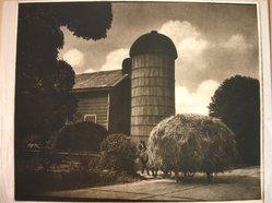 Adolf Fassbender (American, 1884-1980). <em>Rounding the Corner</em>. Photograph, 14 x 17 in. (35.6 x 43.2 cm). Brooklyn Museum, Gift of the artist, 41.386. © artist or artist's estate (Photo: Brooklyn Museum, CUR.41.386.jpg)