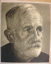 Robert M. Beer (American). <em>Worn</em>., sheet: 14 x 17 in. (35.6 x 43.2 cm). Brooklyn Museum, Gift of the artist, 42.129 (Photo: Brooklyn Museum, CUR.42.129.jpg)