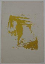 Henry Mark (American, born 1915). <em>Birth of Venus (Progressive)</em>, 1944. Serigraph on wove paper, Sheet: 11 x 7 1/2 in. (27.9 x 19.1 cm). Brooklyn Museum, Dick S. Ramsay Fund, 45.12.5. © artist or artist's estate (Photo: Brooklyn Museum, CUR.45.12.5.jpg)