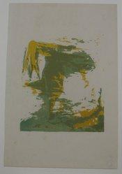Henry Mark (American, born 1915). <em>Birth of Venus (Progressive)</em>, 1944. Serigraph on wove paper, Sheet: 11 1/16 x 7 3/8 in. (28.1 x 18.7 cm). Brooklyn Museum, Dick S. Ramsay Fund, 45.12.6. © artist or artist's estate (Photo: Brooklyn Museum, CUR.45.12.6.jpg)