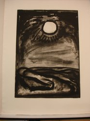 Georges Rouault (French, 1871-1958). <em>Chantez Matines, le Jour Renaît.</em>, 1922. Etching, aquatint, and heliogravure on laid Arches paper, 20 1/16 x 14 3/8 in. (51 x 36.5 cm). Brooklyn Museum, Frank L. Babbott Fund, 50.15.29. © artist or artist's estate (Photo: Brooklyn Museum, CUR.50.15.29.jpg)