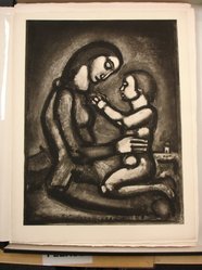 Georges Rouault (French, 1871-1958). <em>Bella Matribus Detestata.</em>, 1927. Etching, aquatint, and heliogravure on laid Arches paper, 22 15/16 x 21 5/16 in. (58.3 x 54.1 cm). Brooklyn Museum, Frank L. Babbott Fund, 50.15.42. © artist or artist's estate (Photo: Brooklyn Museum, CUR.50.15.42.jpg)