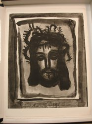 "Georges Rouault (French, 1871-1958). <em>""C'est Par Ses Meurtrissures Que Nous Sommes Guéris.,""</em> 1922. Etching, aquatint, and heliogravure on laid Arches paper, 22 13/16 x 18 5/8 in. (58 x 47.3 cm). Brooklyn Museum, Frank L. Babbott Fund, 50.15.58. © artist or artist's estate (Photo: Brooklyn Museum, CUR.50.15.58.jpg)"