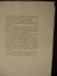 """Georges Rouault (French, 1871-1958). <em>Pages Two and Three of Artist's Preface for Portfolio, """"Miserere.""""</em> . Etching, aquatint, and heliogravure, portfolio shet size: 26 7/8 x 20 1/4 in. (68.2 x 51.5 cm). Brooklyn Museum, Frank L. Babbott Fund, 50.15.61. © artist or artist's estate (Photo: Brooklyn Museum, CUR.50.15.61.jpg)"""