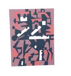 Joseph Jarema. <em>Arte Astratta</em>, 1955. Serigraph, Sheet: 25 3/16 x 19 1/4 in. (64 x 48.9 cm). Brooklyn Museum, Carll H. de Silver Fund, 57.192.5. © artist or artist's estate (Photo: Brooklyn Museum, CUR.57.192.5.jpg)