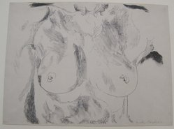Fiske Boyd (American, 1895-1975). <em>Torso Facade</em>, 1922. Lithograph on paper, image: 11 7/8 x 14 3/16 in. (30.1 x 36.1 cm). Brooklyn Museum, Anonymous gift, 59.101.1. © artist or artist's estate (Photo: Brooklyn Museum, CUR.59.101.1.jpg)