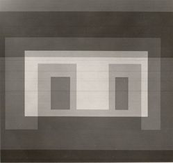 Josef Albers (American, 1888-1976). <em>Variant VI</em>, 1967. Color serigraphs on white wove Rives B.F.K. paper, Sheet: 17 x 17 in. (43.2 x 43.2 cm). Brooklyn Museum, Gift of the artist, 67.184.6. © artist or artist's estate (Photo: Brooklyn Museum, CUR.67.184.6.jpg)