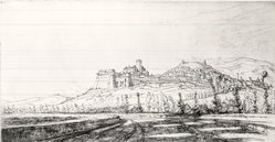 Ernest David Roth (American, 1879-1964). <em>Assisi</em>, 1941. Etching on cream-colored wove paper, Sheet: 11 3/8 x 18 3/8 in. (28.9 x 46.7 cm). Brooklyn Museum, Gift of Mrs. Harold J. Baily, 67.27.9. © artist or artist's estate (Photo: Brooklyn Museum, CUR.67.27.9.jpg)