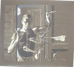 Paul Cadmus (American, 1904-1999). <em>Mobile</em>, 1953. Serigraph, Image: 15 3/4 x 18 1/4 in. (40 x 46.4 cm). Brooklyn Museum, Gift of the artist, 68.164.1. © artist or artist's estate (Photo: Brooklyn Museum, CUR.68.164.1.jpg)