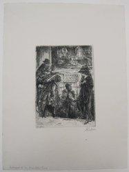 John Sloan (American, 1871-1951). <em>Entrance to the Bandits Cave</em>, 1920. Etching on wove paper, mat: 19 1/8 x 14 5/16 in. (48.6 x 36.3 cm). Brooklyn Museum, Gift of Mrs. Edwin De T. Bechtel, 68.192.44. © artist or artist's estate (Photo: Brooklyn Museum, CUR.68.192.44.jpg)