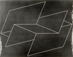 Josef Albers (American, 1888-1976). <em>Interlinear N 32 gr</em>, 1962. Color lithograph on wove Rives paper, 19 x 25 3/4 in. (48.3 x 65.4 cm). Brooklyn Museum, Gift of the artist, 68.54.14. © artist or artist's estate (Photo: Brooklyn Museum, CUR.68.54.14.jpg)
