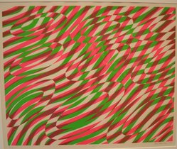 Stanley William Hayter (British, 1901-1988). <em>Untitled</em>, 1970. Screen print, Sheet: 20 x 25 3/4 in. (50.8 x 65.4 cm). Brooklyn Museum, Bristol-Myers Fund, 71.27.4. © artist or artist's estate (Photo: Brooklyn Museum, CUR.71.27.4.jpg)