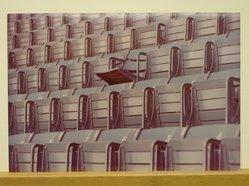 Sigmund  T. Meyers (American, 1923-2006). <em>Blue Seats</em>, 1974. Cibachrome print, 9 1/2 × 14 in. (24.1 × 35.6 cm). Brooklyn Museum, Gift of the artist, 79.309.14. © artist or artist's estate (Photo: Brooklyn Museum, CUR.79.309.14.jpg)