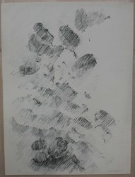 Joel Goldblatt (American). <em>Leaves and Light</em>. Lithograph on white wove paper, Sheet: 13 1/8 x 9 13/16 in. (33.3 x 25 cm). Brooklyn Museum, Anonymous gift, 80.209.33. © artist or artist's estate (Photo: Brooklyn Museum, CUR.80.209.33.jpg)