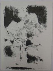 Joel Goldblatt (American). <em>Still-Life with Dark and Light</em>, 1960. Lithograph on white laid paper, Sheet: 13 1/2 x 10 in. (34.3 x 25.4 cm). Brooklyn Museum, Anonymous gift, 80.209.37. © artist or artist's estate (Photo: Brooklyn Museum, CUR.80.209.37.jpg)