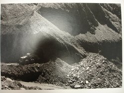 Donald Burns (American, 1919-1989). <em>Mining Operation Near Shenandoah, Pennsylvania</em>, April 2, 1981. Gelatin silver photograph, image: 6 3/4 x 9 1/2 in. (17.1 x 24.1 cm). Brooklyn Museum, Gift of the artist, 81.140.6. © artist or artist's estate (Photo: Brooklyn Museum, CUR.81.140.6.jpg)