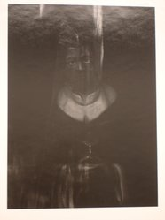 Sidney Kerner (American, 1920-2013). <em>Plastic Saint (N.Y.C)</em>, 1971. Gelatin silver photograph, sheet: 14 1/8 × 11 3/8 in. (35.9 × 28.9 cm). Brooklyn Museum, Gift of Anna Bisso, 81.147.1. © artist or artist's estate (Photo: Brooklyn Museum, CUR.81.147.1.jpg)