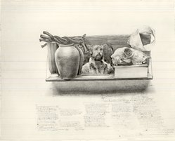 Anthony Gorny (American, born 1950). <em>January's Work</em>, 1979. Graphite on paper, 22 1/2 x 29 1/8 in. (57.2 x 74 cm). Brooklyn Museum, A. Augustus Healy Fund, 81.84. © artist or artist's estate (Photo: Brooklyn Museum, CUR.81.84.jpg)