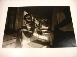 Dawoud Bey (American, born 1953). <em>The Woman in the Light</em>, 1980. Gelatin silver photograph, image: 8 x 12 in. (20.3 x 30.5 cm). Brooklyn Museum, Gift of the artist, 82.137.4. © artist or artist's estate (Photo: Brooklyn Museum, CUR.82.137.4.jpg)