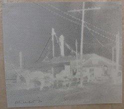 Esta Nesbitt (American, 1918-1975). <em>[Untitled]</em>, 1972. Relief half tone, 7 5/8 x 8 9/16 in. (19.4 x 21.8 cm). Brooklyn Museum, Gift of Saul Nesbitt, 82.150.1. © artist or artist's estate (Photo: Brooklyn Museum, CUR.82.150.1.jpg)