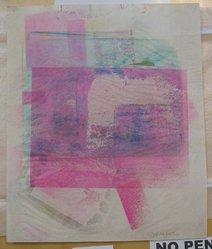 Esta Nesbitt (American, 1918-1975). <em>[Untitled]</em>, 1971. Color Xerox, sheet: 16 5/8 x 13 7/8 in. (42.3 x 35.3 cm). Brooklyn Museum, Gift of Saul Nesbitt, 82.150.3. © artist or artist's estate (Photo: Brooklyn Museum, CUR.82.150.3.jpg)