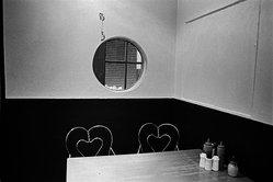 Hazel Hankin (American, born 1947). <em>Interior Nathans Dining Room</em>, 1983. Gelatin silver photograph Brooklyn Museum, Gift of the artist, 83.130.1. © artist or artist's estate (Photo: Image courtesy of the artist, CUR.83.130.1_artist_photo.jpg)