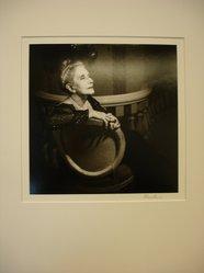 Karl Gernot Kuehn (American, born Germany, 1940). <em>Lynn Fontanne (Profile)</em>, 1981. Gelatin silver photograph, 10 × 10 in. (25.4 × 25.4 cm). Brooklyn Museum, Gift of Karl Gernot Kuehn, 84.90.2. © artist or artist's estate (Photo: Brooklyn Museum, CUR.84.90.2.jpg)