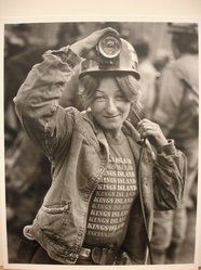 Builder Levy (American, born 1942). <em>Brenda Ward, U.S. Steel #50 Mine, Pinnacle W. Va., 1982</em>, 1982. Toned gelatin silver photograph, sheet: 10 × 8 in. (25.4 × 20.3 cm). Brooklyn Museum, Gift of Harold and Vivian Levy, 85.189.5. © artist or artist's estate (Photo: Brooklyn Museum, CUR.85.189.5.jpg)