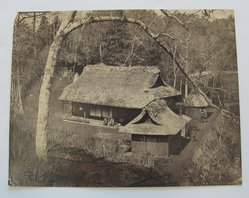 Frith. <em>Farm House</em>, late 19th-early 20th century. Albumen silver photograph, 5 15/16 x 7 5/8 in. (15.1 x 19.4 cm). Brooklyn Museum, Gift of Matthew Dontzin, 86.256.29 (Photo: Brooklyn Museum, CUR.86.256.29.jpg)
