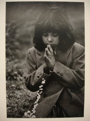 W. Eugene Smith (American, 1918-1978). <em>[Untitled] (Juanita Praying)</em>, n.d. Gelatin silver photograph, Sheet: 13 1/4 x 9 in. (33.7 x 22.9 cm). Brooklyn Museum, Gift of Philip Goutell, 87.245.10. © artist or artist's estate (Photo: Brooklyn Museum, CUR.87.245.10.jpg)