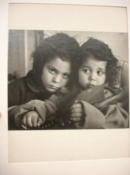 W. Eugene Smith (American, 1918-1978). <em>[Untitled] (Juanita and Marissa, Ages 2 and 4)</em>, n.d. Gelatin silver photograph, Sheet: 8 1/4 x 10 3/4 in. (21 x 27.3 cm). Brooklyn Museum, Gift of Philip Goutell, 87.245.12. © artist or artist's estate (Photo: Brooklyn Museum, CUR.87.245.12.jpg)