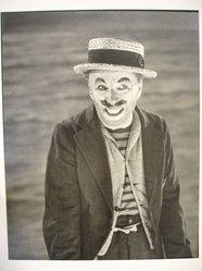 W. Eugene Smith (American, 1918-1978). <em>[Untitled] (Charlie Chaplin)</em>, 1952. Gelatin silver photograph, Sheet: 13 1/4 x 10 1/2 in. (33.7 x 26.7 cm). Brooklyn Museum, Gift of Philip Goutell, 87.245.29. © artist or artist's estate (Photo: Brooklyn Museum, CUR.87.245.29.jpg)