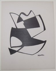 A. N. Christie (American, 1891-1980). <em>[Untitled]</em>, 1937. Off-set lithograph on wove paper, sheet: 12 1/16 x 9 1/4 in. (30.6 x 23.5 cm). Brooklyn Museum, Purchased with funds given by an anonymous donor, 88.54.6. © artist or artist's estate (Photo: Brooklyn Museum, CUR.88.54.6.jpg)