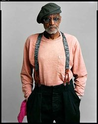Timothy Greenfield-Sanders (American, born 1952). <em>Melvin Van Peebles</em>, 2008. Inkjet print, 58 x 44 in. (147.3 x 111.8 cm). Brooklyn Museum, Gift of Melva Bucksbaum, 2020.23.18. © artist or artist's estate (Photo: Image courtesy of the artist, CUR.L2015.8.18_Greenfield-Sanders_photograph.jpg)