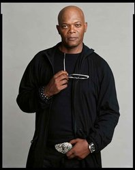 Timothy Greenfield-Sanders (American, born 1952). <em>Samuel L. Jackson</em>, 2008. Inkjet print, 58 x 44 in. (147.3 x 111.8 cm). Brooklyn Museum, Gift of Melva Bucksbaum, 2020.23.22. © artist or artist's estate (Photo: Image courtesy of the artist, CUR.L2015.8.22_Greenfield-Sanders_photograph.jpg)