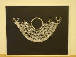 Herman de Wetter (American, born Estonia, 1880-1950). <em>Middle Eastern Necklace</em>, n.d. Gelatin silver photograph, 11 x 14 in. (27.9 x 35.6 cm). Brooklyn Museum, Brooklyn Museum Collection, X894.102. © artist or artist's estate (Photo: Brooklyn Museum, CUR.X894.102.jpg)