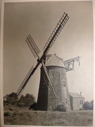 Samuel H. Gottscho (American, 1875-1971). <em>Windmill at Hayground, L.I., General Exterior</em>, 1930. Gelatin silver photograph, image: 10 1/2 x 7 1/2 in. (26.7 x 19.1 cm). Brooklyn Museum, Brooklyn Museum Collection, X894.135. © artist or artist's estate (Photo: Brooklyn Museum, CUR.X894.135.jpg)