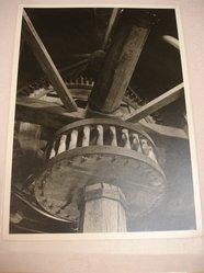 Samuel H. Gottscho (American, 1875-1971). <em>Windmill at Hayground, L.I., Interior 2nd Story</em>, 1930. Gelatin silver photograph, 11 x 8 in. (27.9 x 20.3 cm). Brooklyn Museum, Brooklyn Museum Collection, X894.136. © artist or artist's estate (Photo: Brooklyn Museum, CUR.X894.136.jpg)