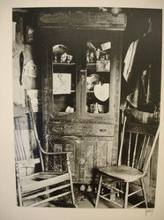 Theodor Jung (American, born Austria, 1906-1996). <em>[Untitled] (Chairs and Cupboard)</em>, late 1930s. Gelatin silver photograph, 8 5/8 × 6 1/4 in. (21.9 × 15.9 cm). Brooklyn Museum, Brooklyn Museum Collection, X894.71. © artist or artist's estate (Photo: Brooklyn Museum, CUR.X894.71.jpg)